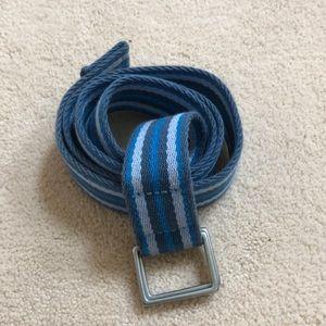 Men's adjustable J Crew belt